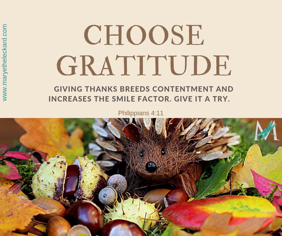 A Heart of Gratitude
