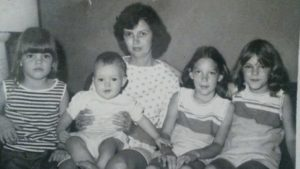 Mom and her four kids
